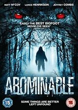 Abominable DVD Region 2 Horror *New & sealed*