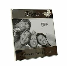 "SILVER MESSAGE BAND FRIENDS THE FAMILY WE CHOOSE FOR OURSELVES 6"" x 4"""
