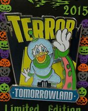Disney Parks Disneyland Halloween DONALD DUCK Terror in Tomorrowland LE Pin