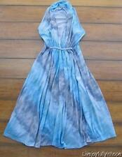 SODA BLUE ~ Bohemian Dreamy Blue Tie Dye Swimsuit Cover-up Dress