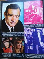 recorte sean connery james bond 007 warren beatty faye dunaway bernadette devlin