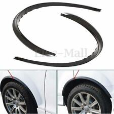 Body Kits Carbon Fender Flare Wheel Eyebrow Sticker For Universal Car 2pcs Black