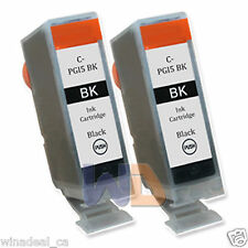 2 BLACK PGI-5 PGI-5BK Canon PGI5 Ink Cartridge for Canon MP530 MP610 MP830