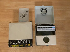 Vintage Polaroid PORTRAIT KIT # 581 w/ Instructions