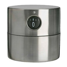 Stainless Steel Mechanical Kitchen Timer - IKEA Ordning - NEW !!!