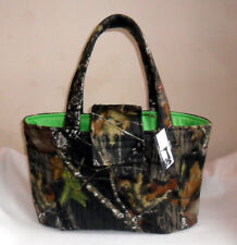 Handmade Large Mossy Oak Breakup Camouflage Camo Diaper Bag Tote INTERIOR CHOICE