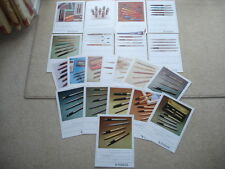 C1977 VINTAGE PARKER PENS & PENCILS 21 PAGE PARKER SALESMANS ADVERTISING FOLDER