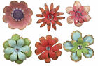 Unique Metal Flower Magnets~6 styles and Multi-colors to choose from.