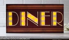 Diner marquee lighted picture Radiance Canvas 39940 NEW