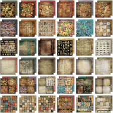 TIM HOLTZ IDEA-OLOGY 12X12 Scrapbooking Paper Pad Paper Stash Lost & Found NEW
