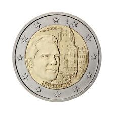 """Luxembourg 2 Euro commemorative coin 2008 """"Chateau de Berg"""" UNC"""