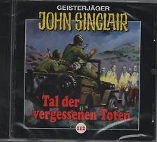 JOHN SINCLAIR - Teil 112 - Tal der vergessenen Toten - AUDIO CD - NEU