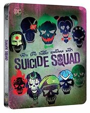Suicide Squad - Limited Edition Steelbook (Blu-ray + 4K) BRAND NEW!!