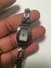 Nice Ladies Silver Tone Fossil FS-5224 Analog Watch