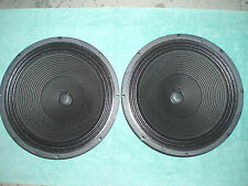 "VINTAGE MATCHED PAIR JENSEN C15PS 15"" INCH SPEAKERS -PRICE REDUCED-!  8 OHMS"