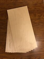 "6 Pieces 1/2"" Baltic Birch Plywood 11 3/4"" X 23 1/2"""