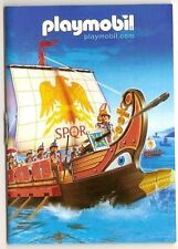 2006 Playmobil ROMAN GALLEY COVER BOOKLET / CATALOG - 43 pages - Brand new!