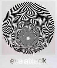 Eye Attack: Op Art and Kinetic Art 1950-1970 by Hardcover Book (English)