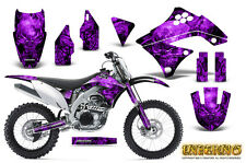 KAWASAKI KXF450 KX450F 09-11 GRAPHICS KIT CREATORX DECALS INFERNO PR