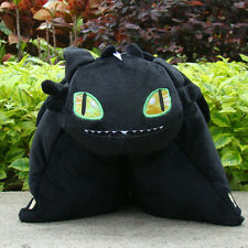 How To Train Your Dragon Plush Stuffed Cushion Pillow Cuddly Doll Toothless 15""
