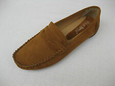 Pierre Dumas Womens Shoes NEW $45 Viola Tan Perf Loafer Driver 9 M