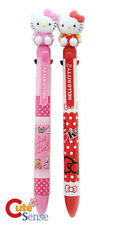 Hello Kitty Figure Top Multi Functional Pen 2pc Set School Office Stationery
