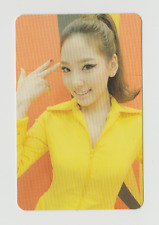 "SNSD GIRLS' GENERATION ""HOOT""  Official Photo Card Taeyeon F/S New"