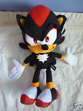 SONIC THE HEDGEHOG -  SHADOW  Plush Soft Toy Doll 40cm  BNWT