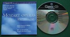 Classic CD Mozart Operas Preview Charles Mackerras's Don Giovanni + CD