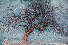 The Red Tree   by Piet Mondrian  Giclee Canvas Print  Repro
