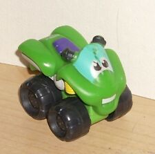 2009 Tonka Hasbro Chuck and Friends Quad ATV Green Toy Motorcycle Little Tikes