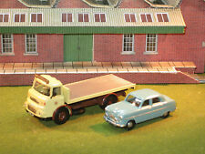 B-T Model Albion Chieftan Flatbed & Classix Ford Zephyr 1/76th OO gauge Vehicles