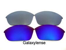 Galaxy Lentes De Repuesto Para Oakley Half Jacket 2.0 azul y titanio Polarizados