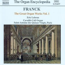 FRANCK : THE GREAT ORGAN WORKS VOL. 1 / CD - TOP-ZUSTAND