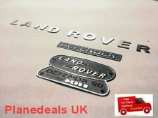ROCK CRAWLER Land Rover Metal Logo Set 1/10 Rc  CC01 D90 SCX10  W2
