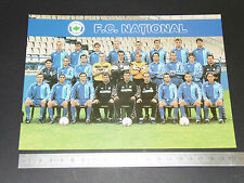 FC NATIONAL BUCURESTI ROMANIA ROUMANIE 2001-2002 FOOTBALL CPA