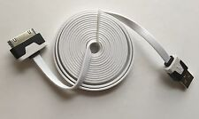 Heavy Duty extra strong apple iphone 4 4S Ipod Ipad 2 3 USB lead cable 2M White