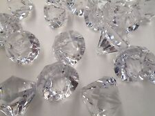 50 Pcs 24mm Acrylic Crystal Bead Diamond Drops Wedding Decorations Chandelier
