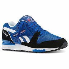 Reebok Men's GL 6000 SNEAKERS Running Casual Fashion Blue Black New Size 7.5