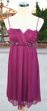 WINDSOR Berry Homecoming Party Dance Dress L - $67 NWT