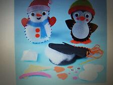 Natale Bean Bag Kit per cucito-pacco da 2 di Baker Ross