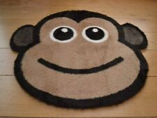 New Cute Cheeky Monkey Small Size Rugs Fluffy Warm Furry Bedroom Floor Mat Cheap