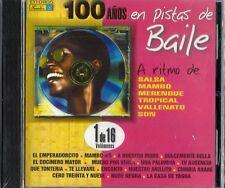 100 Anos En Pista de Baile  Latin Music CD