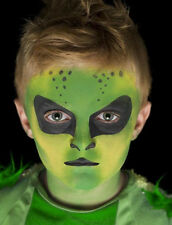"Tolles Make-Up-Set  ""Alien"" -3 Farben Aquaschminke, Theater, Karneval, Fasching"