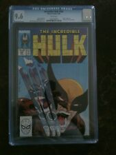 Marvel -Incredible Hulk # 340 CGC 9.6 White Blue Label-McFarlane Wolverine Cover