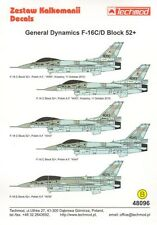 Techmod 1/48 Lockheed-Martin F-16C/F-16D Block 52+ Polish Air Force # 48096