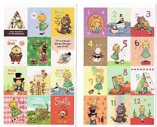 Dibujos animados lindo 24 Conjunto de Pegatinas de Alicia en el país de las maravillas