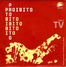 DETTO MARIANO proibito / proibito (strumentale) 45GIRI 1979 Meeting SIGLA TV