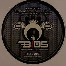 """Motion – Elements Of Truth / The Sun At Five AM BIOS – BIOS002 NEW VINYL 12"""""""