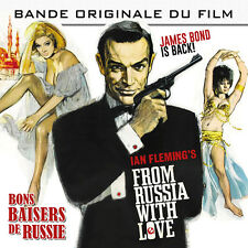 CD From Russia With Love - Bons Baisers de Russie - John Barry - James Bond